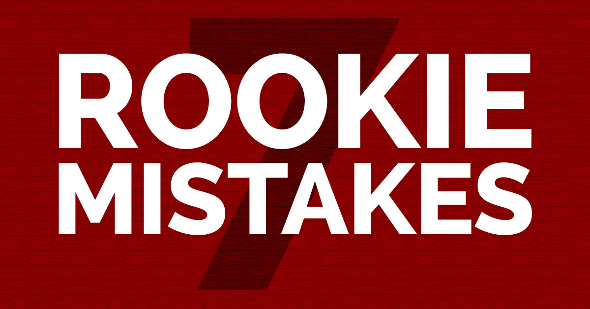 7 Rookie Mistakes to Avoid for Client Websites