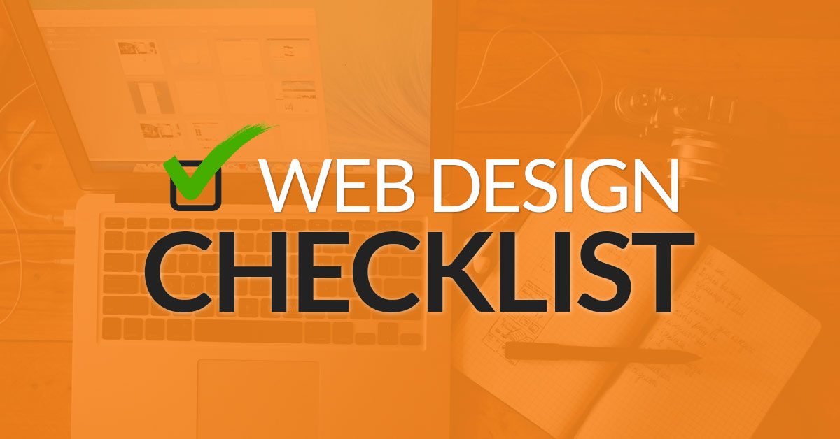 Web Design Best Practices Checklist