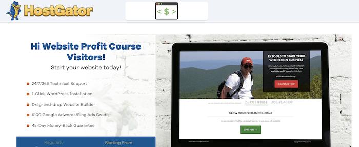 HostGator website hosting services