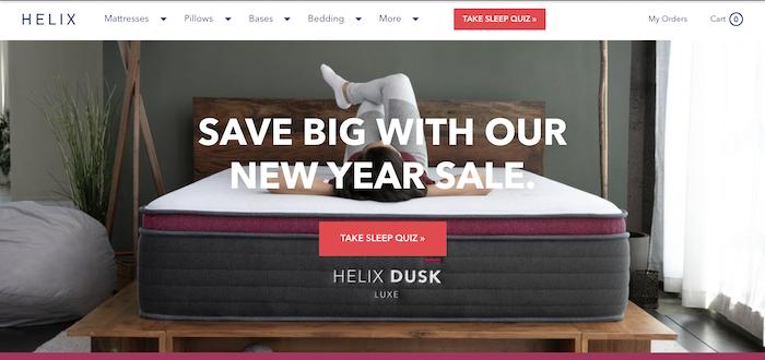 Helix homepage